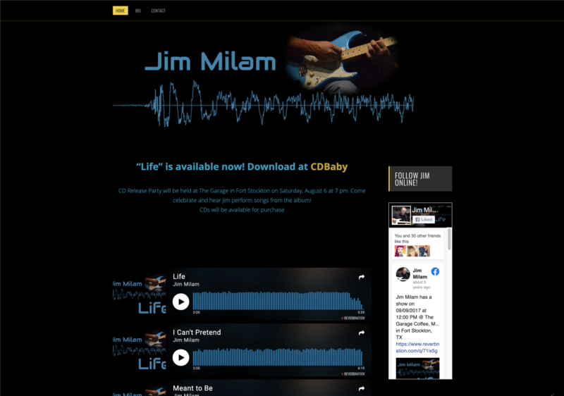 Jim Milam Music